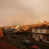 Snow on its way, looking North towards Portsdown Hill