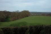 View of Farmland from Wheatham Hill