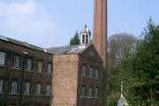 Quarry Bank Mill in Styal Country Park