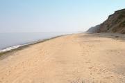 The beach near Orrisdale Head