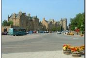 Dornoch, main street