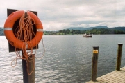 Boat Trip dock at Bowness on Windermere