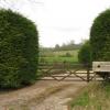 Entrance to Beenham Stocks Vineyard