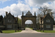Gates to Englefield Estate