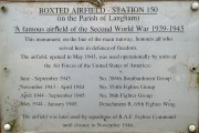 Boxted Plaque