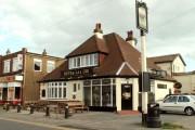 'Never Say Die' public house, Jaywick, Essex