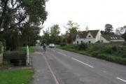 The road to Almondsbury in Tockington