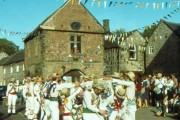 Winster Morris in the village