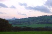 The Skirrid (Ysgyryd Fawr) from near Abbey Dore