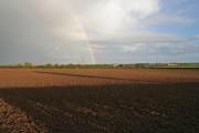 Rainbow over Hill Top Farm