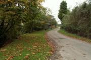 Dead-end lane at Park Green