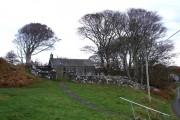 Kilninian Church, Autumn