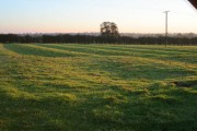 Ridge and furrow strips on Arnesby Lane