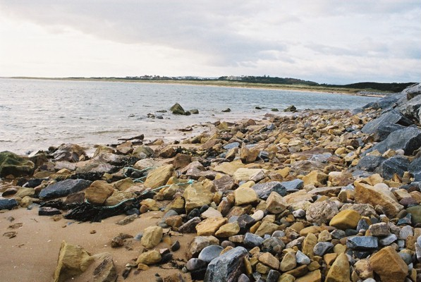 Bay next to Royal Dornoch Golf Course