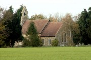 St. Mary's church at Little Finborough, Suffolk