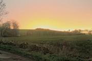 Farmland outside Blackwell