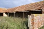 Cast Iron Support Pillars, Dungee Barn, Bozeat