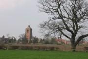 Waverton St  Peters across the fields
