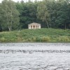 """Temple"" at Clumber Park, looking South East across the lake"