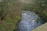 The Glen Water at Darvel Bridge