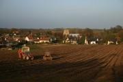 Wetherden village