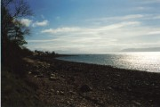 Towards Milton from the shore