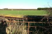 Old Trailer in Farmland