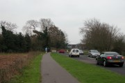 The Northern entrance to Stubbington Village