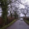 The road to Upper Breinton