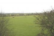 Farmland west of Pont Charlie