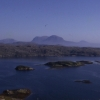 Badcall Bay and the mountains of Assynt