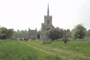 Braughing church from the E