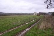 Farmland above the Wye Valley