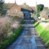 View approaching Barnsole from Chalk Pit Lane.