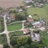 Aerial view from Paramotor of Lower Radley Farm