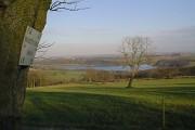 View of Ogston Reservoir from Whitecarr Lane