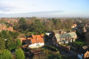 Collingham Village from top of South Church Tower