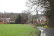 Houses on Mill Lane, Nonington.