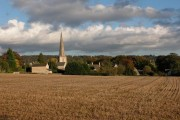 Painswick from Hambutts Field