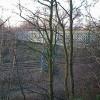 Padley Wood Footbridge viewed from Padley Wood