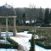 Restored walled garden at Hopton Hall, Derbyshire