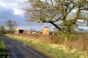 Unusual Farm Building