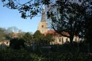 Church and Churchyard - Danbury