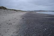 Dunes backing Balephetrish Bay