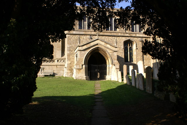 Lowick Church Porch and south aisle