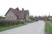 Hill village scene