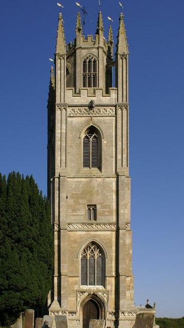 Lowich Church tower