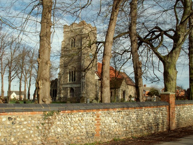 St. Peter's church, Henley, Suffolk