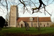St. Mary's church, Helmingham, Suffolk