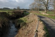 Bridge over brook named Letton Lake